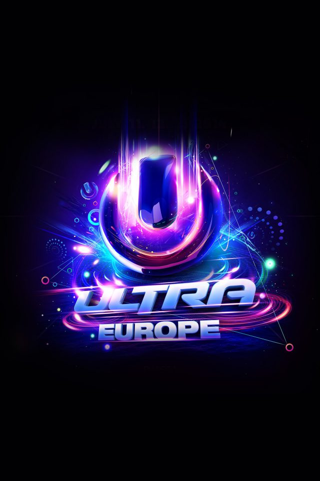 Ultra Europe Art Poster Music Party Concert Android wallpaper