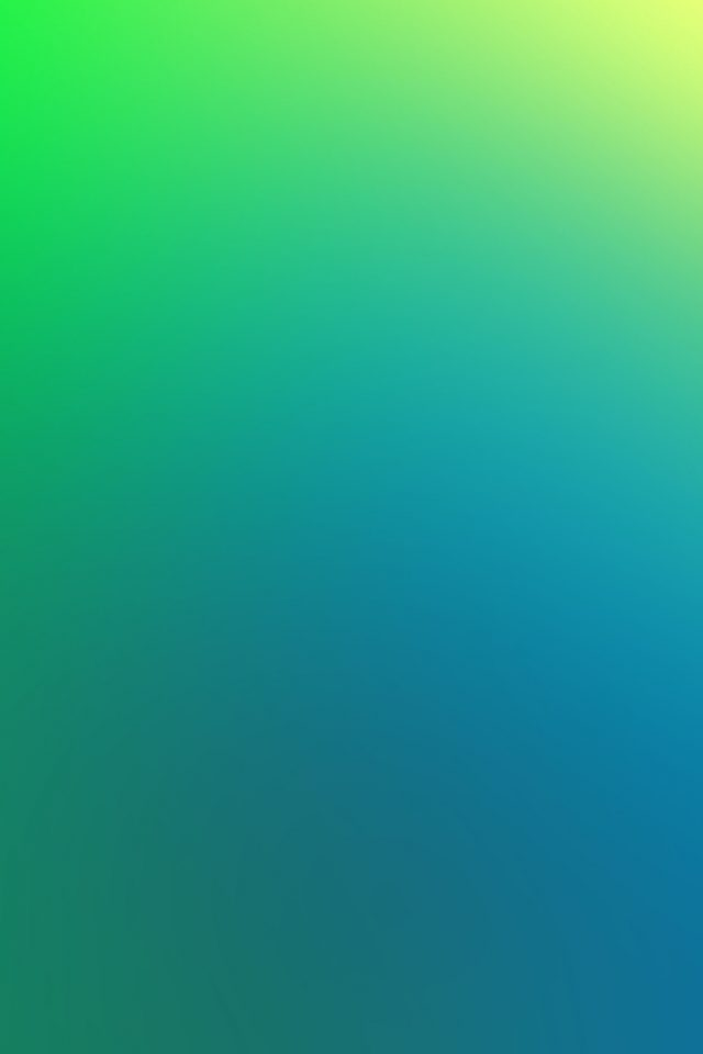 Green Apple Blue Yellow Blur Android wallpaper