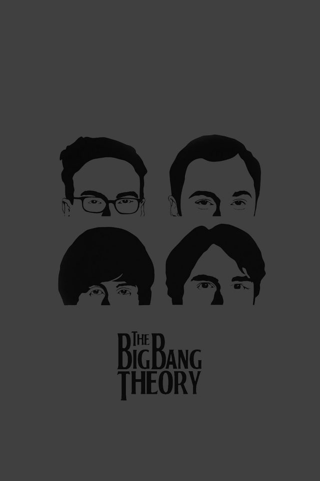 Wallpaper Bigbang Theory Guys Film Dark Android wallpaper