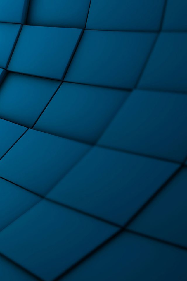 Wallpaper Brick 3ds Blue Pattern Android wallpaper