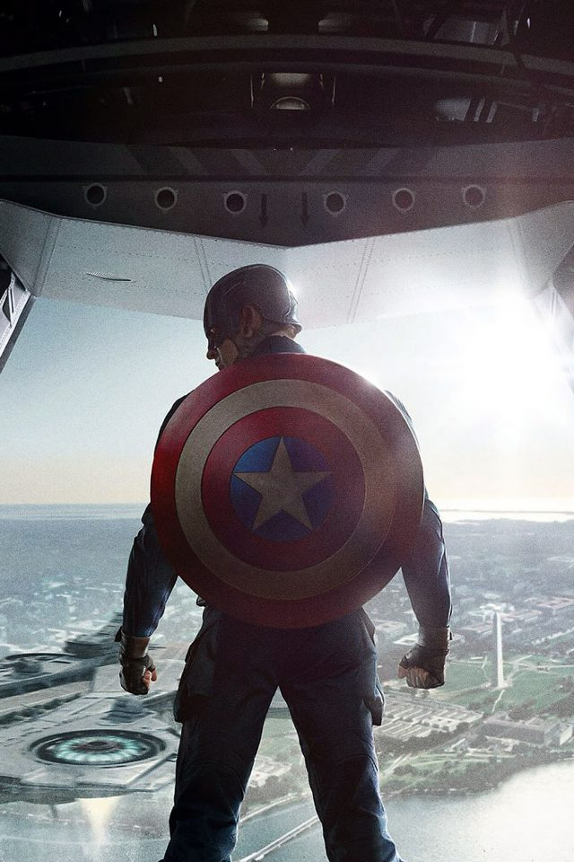 Wallpaper Captain America Soldier Face Film Hero Android wallpaper