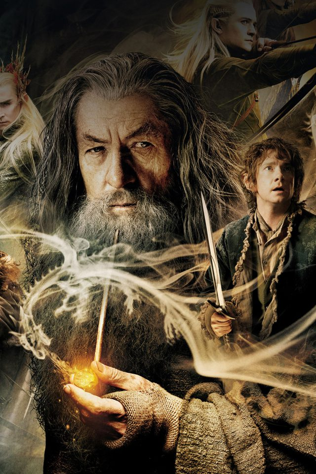 Wallpaper Desolation Of Smaug Hobbit Film Face Android wallpaper