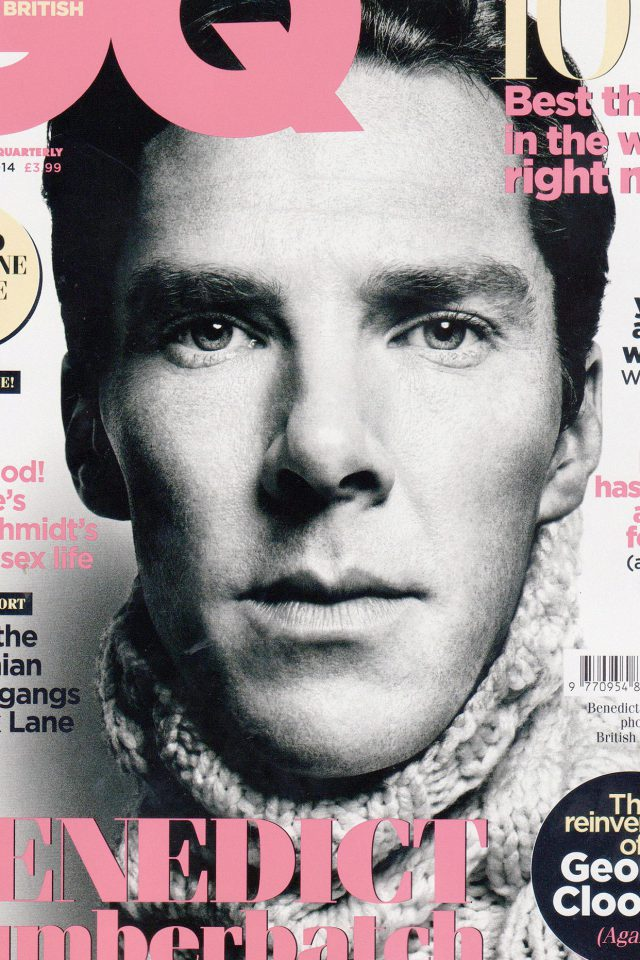 Wallpaper Gq Benedict Cumberbatch Face Film Android wallpaper