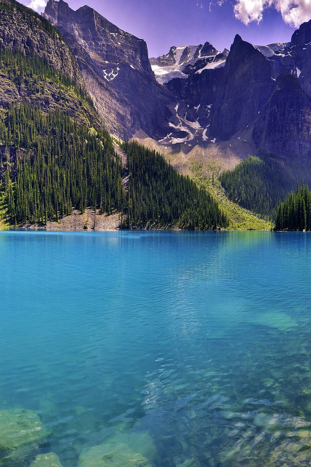 Wallpaper Green Dive Lake River Nature Mountain Android wallpaper