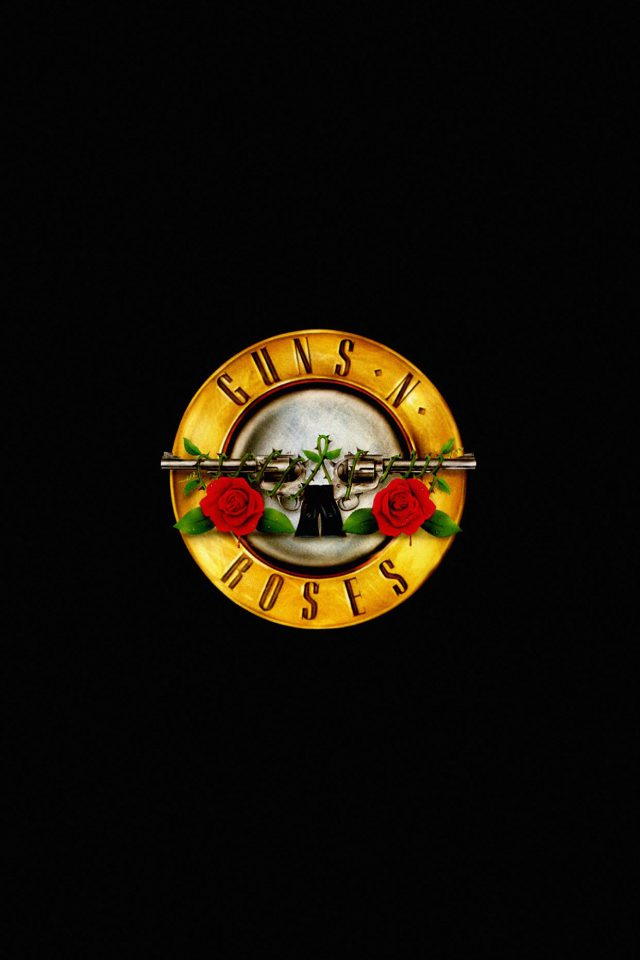 Wallpaper Guns N Roses Logo Music Dark Android wallpaper