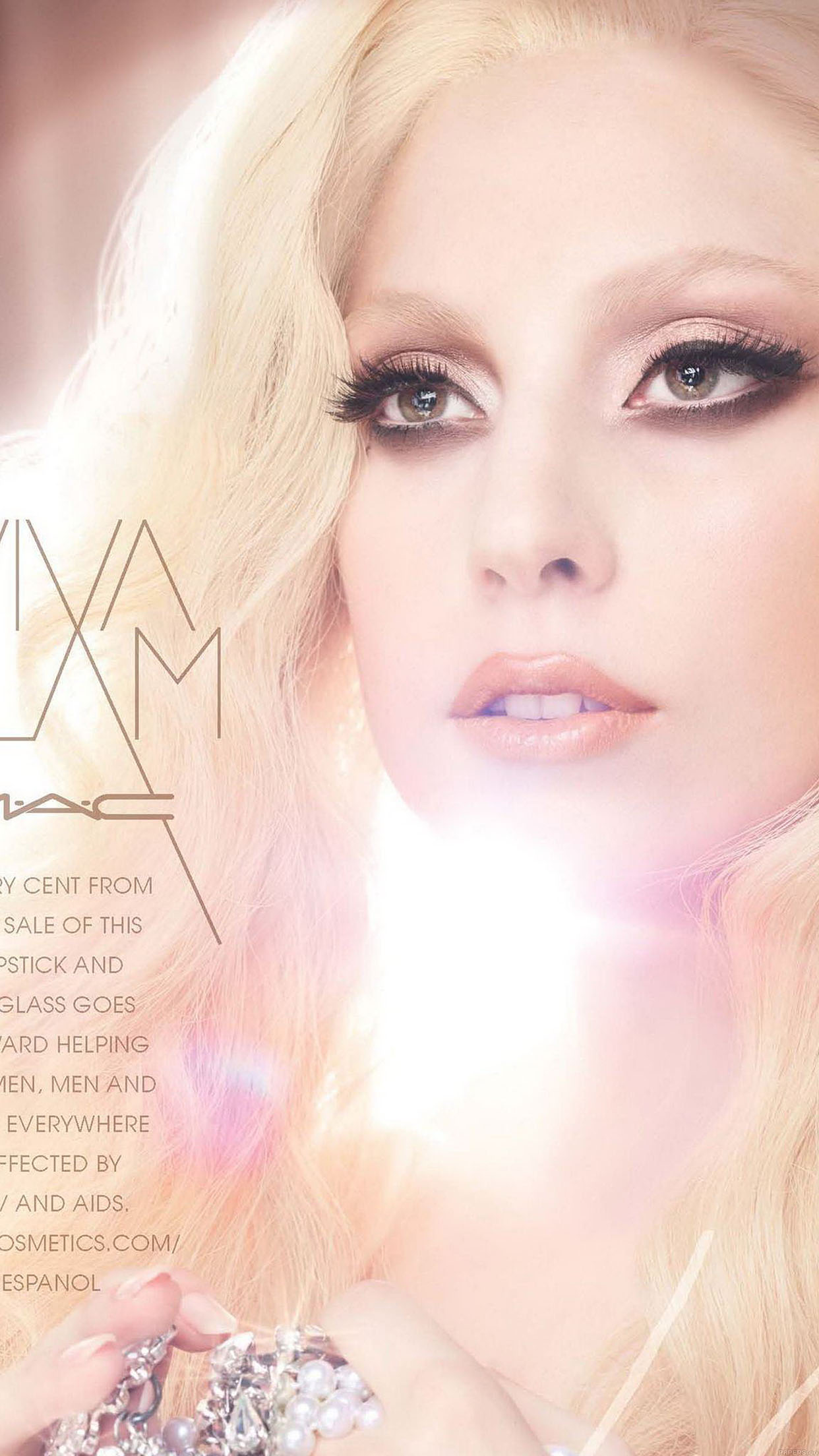 Wallpaper Lady Gaga Mac Face Girl Music Android wallpaper