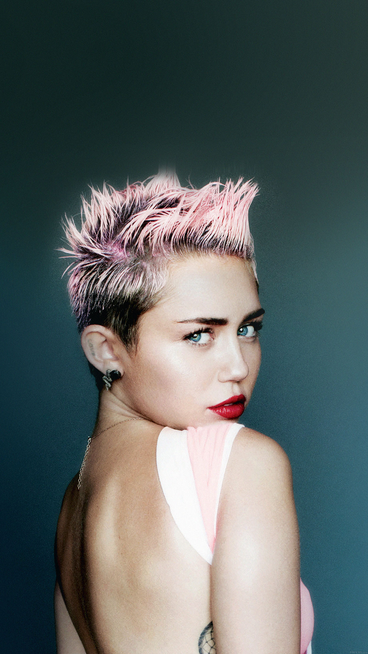 Wallpaper Miley Cyrus For V Face Music Android wallpaper