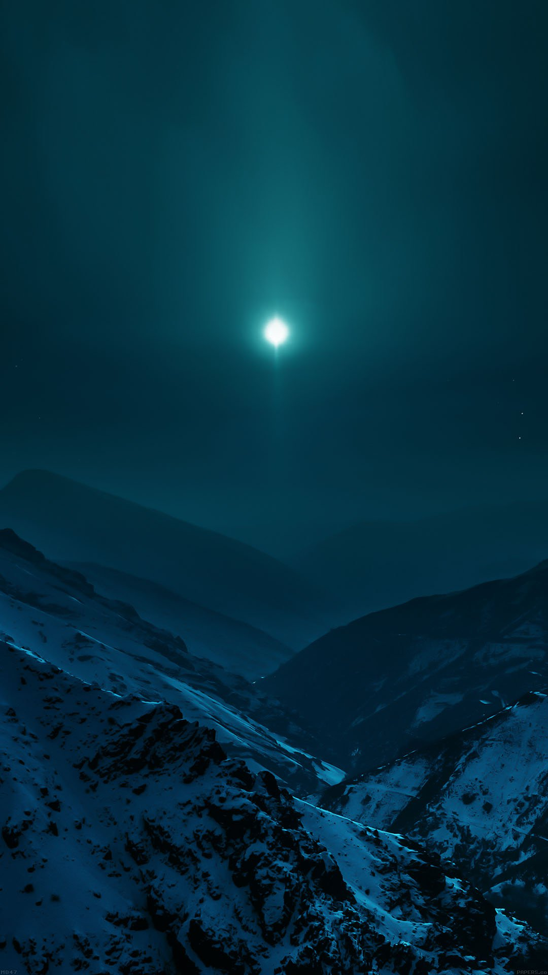 Wallpaper Nature Earth Asleep Mountain Night Android wallpaper
