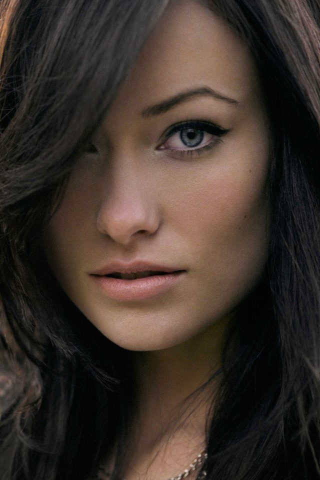 Wallpaper Olivia Wilde Stare Face Girl Film Android wallpaper