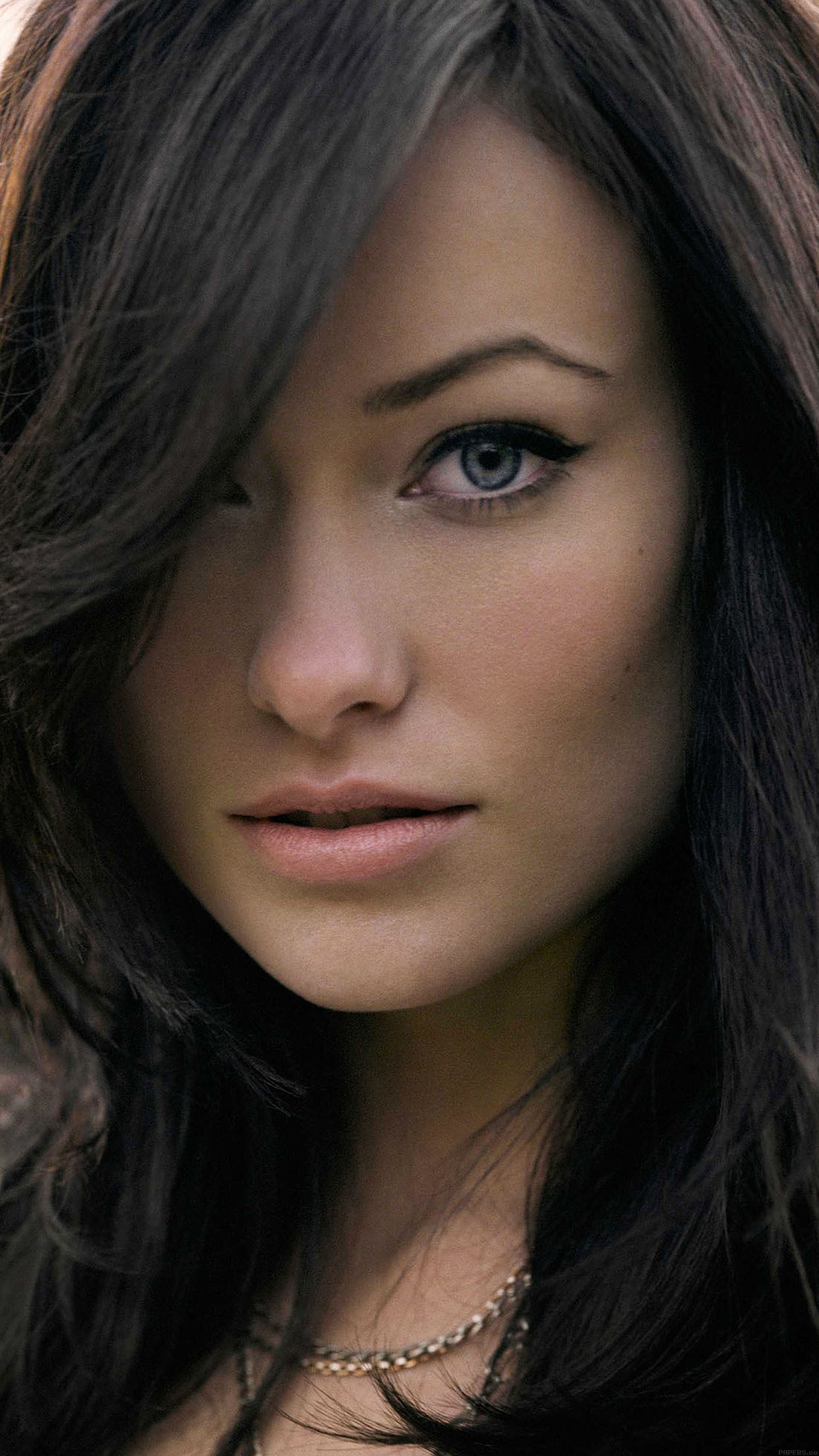 wallpaper olivia wilde stare face girl film android wallpaper android hd wallpapers
