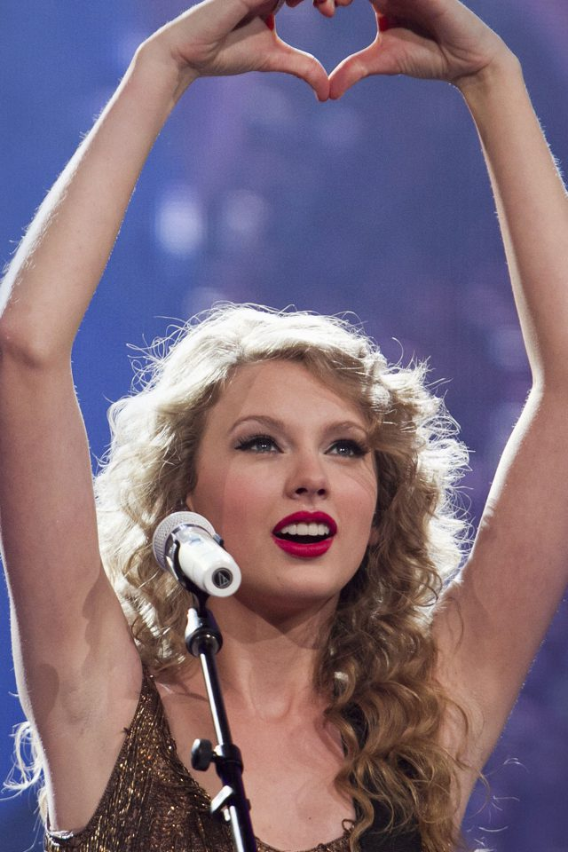 Wallpaper Taylor Swift Love Concert Music Girl Face Android wallpaper