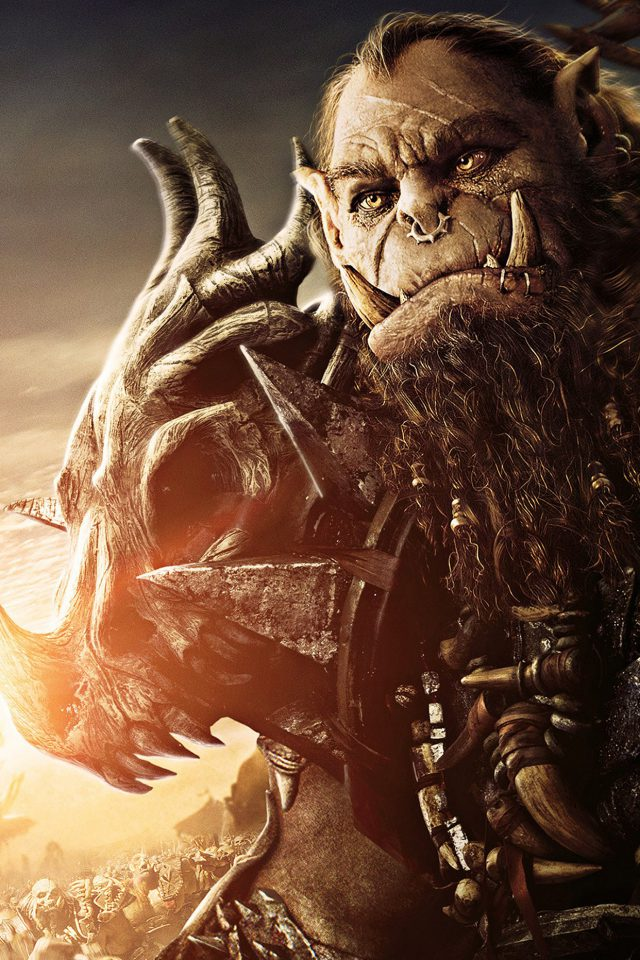 Warcraft Movie Film Poster Game Art Illustration Android wallpaper