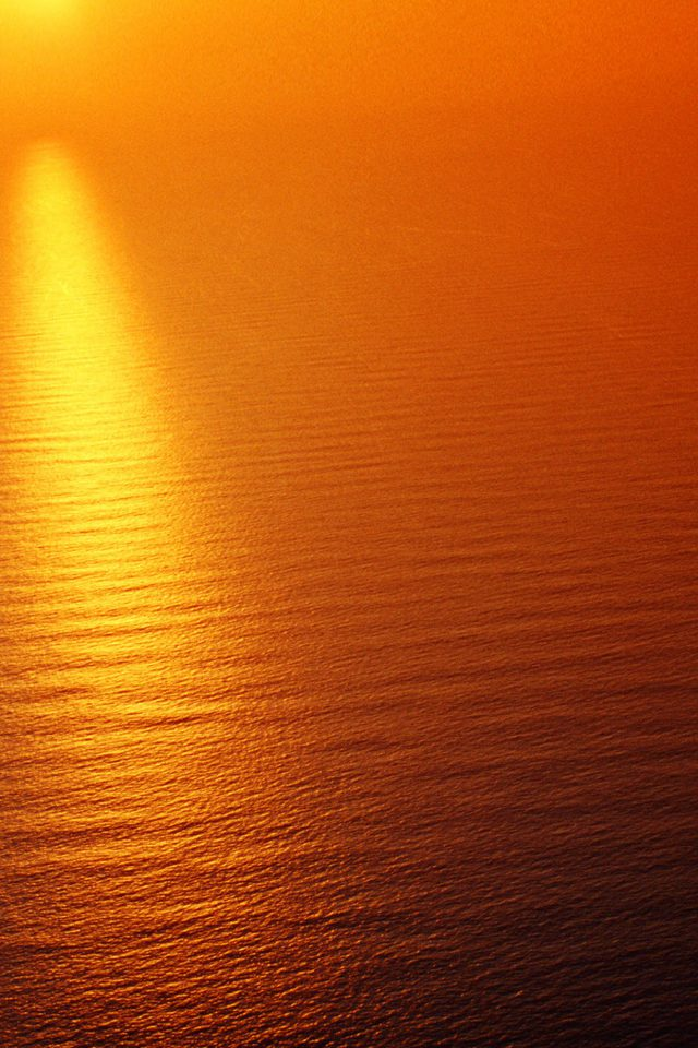 Water Ocean Red Sunset Nature Texture Pattern Android wallpaper