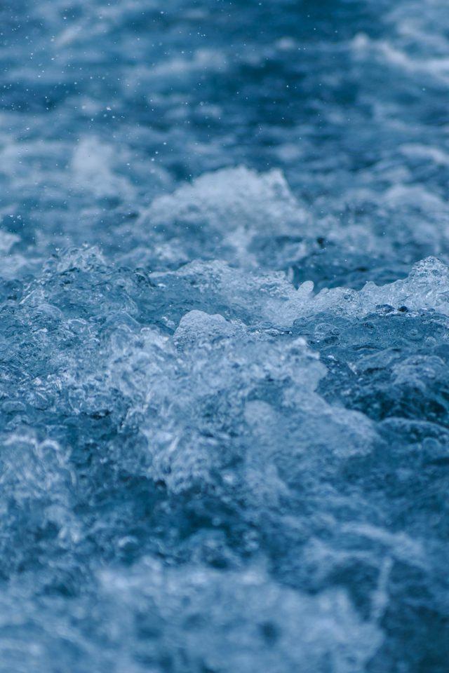 Wave Sea Ocean Nature Angry Android wallpaper