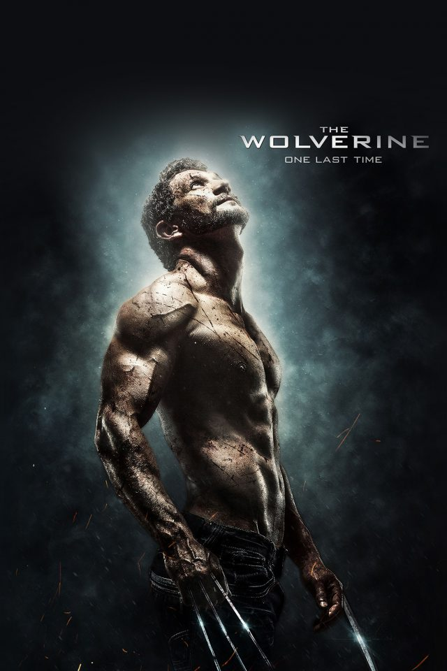 Wolverine Last Hero Art Film Android wallpaper