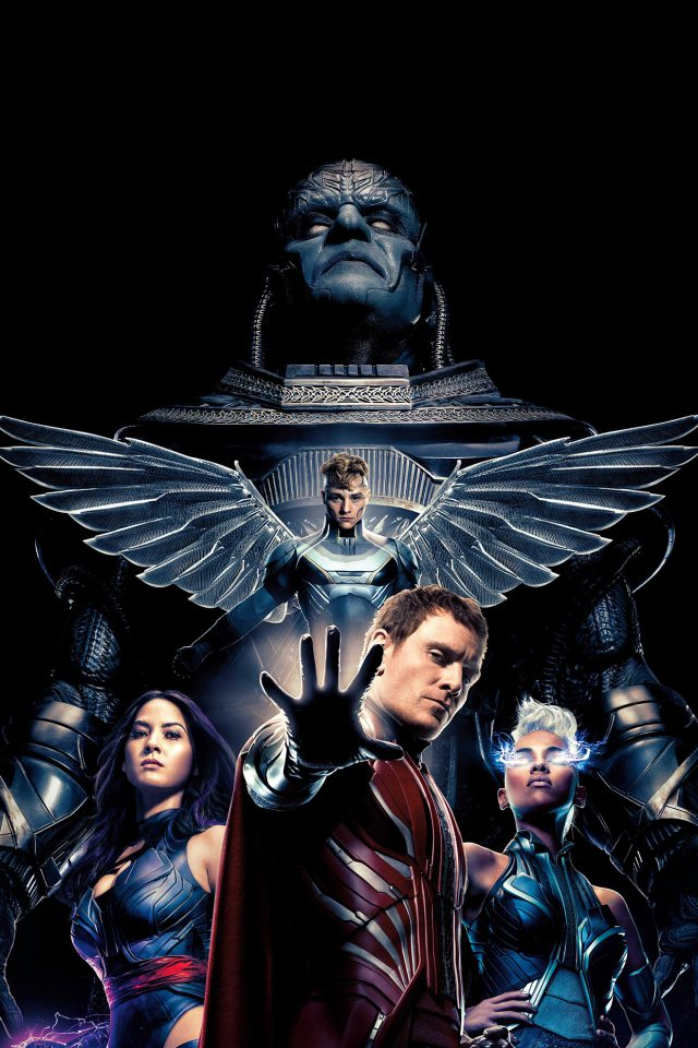 Xmen Apocalypse Poster Film Hero Destroy Android wallpaper