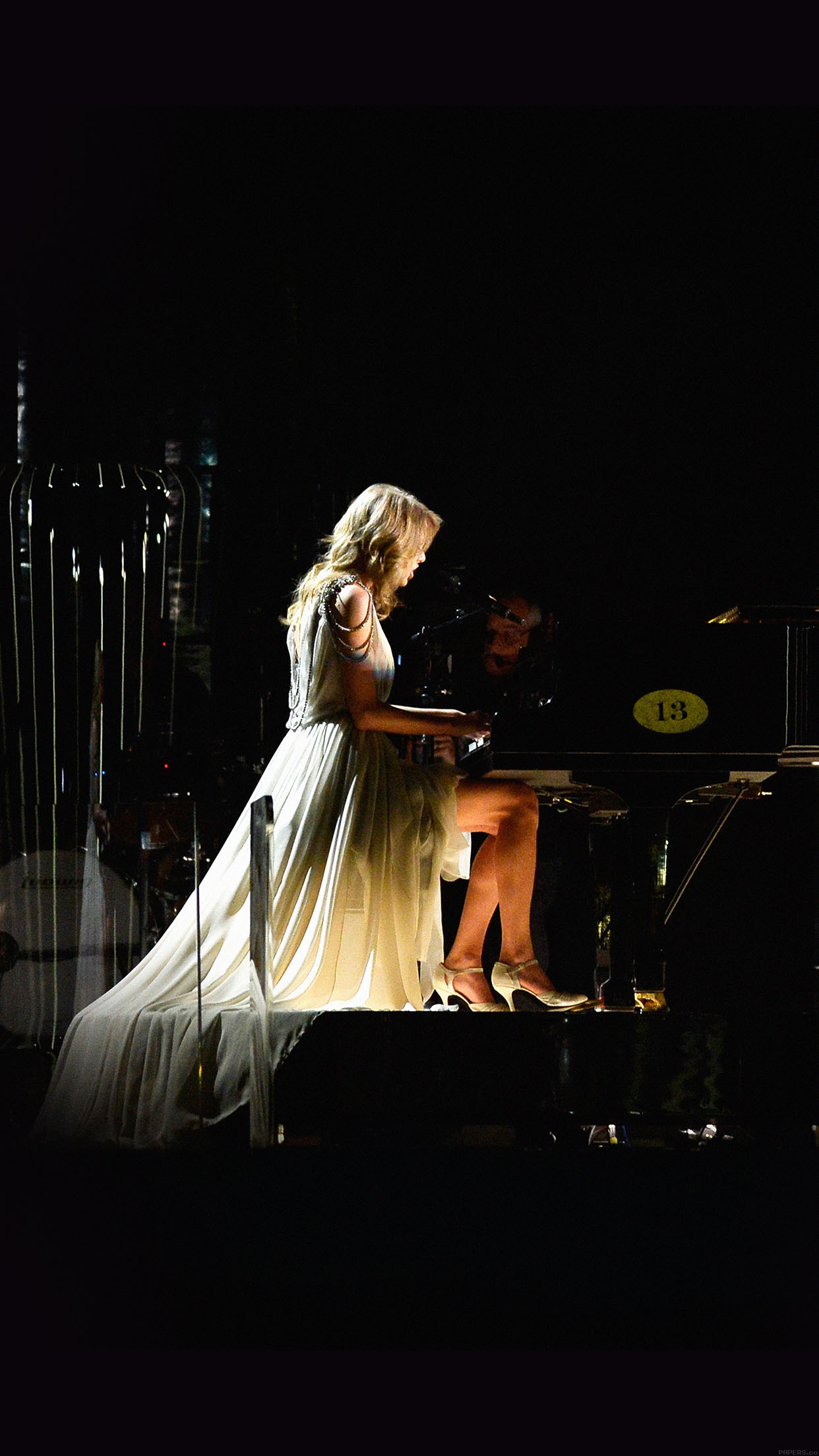 Ylor Swift Piano Concert Woman Music Android wallpaper