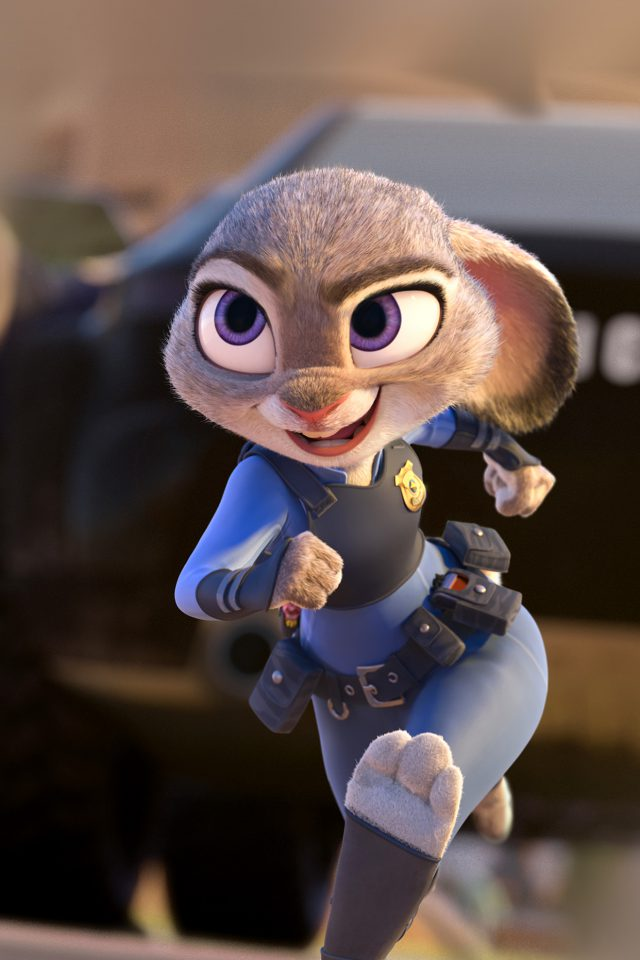 Zootopia Zudy Hopps Disney Art Cute Animal Android wallpaper