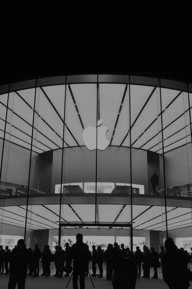 Apple Store Event City Architecture Dark Android wallpaper