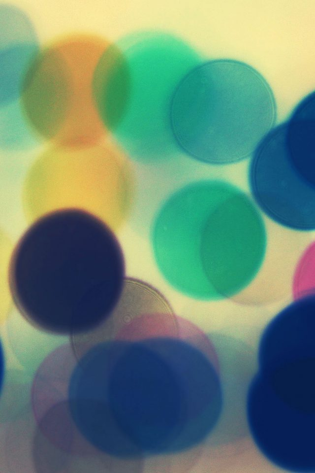 Blurred Lines B Bokeh Pattern Android wallpaper
