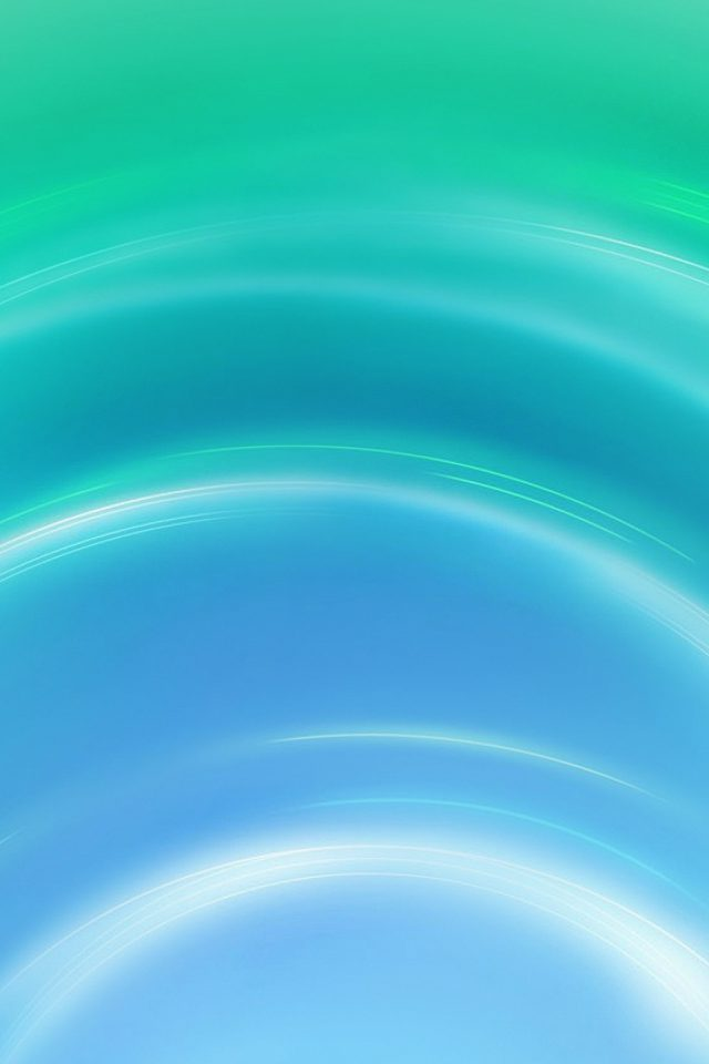 Circle Blue Green Abstract Light Pattern Android wallpaper