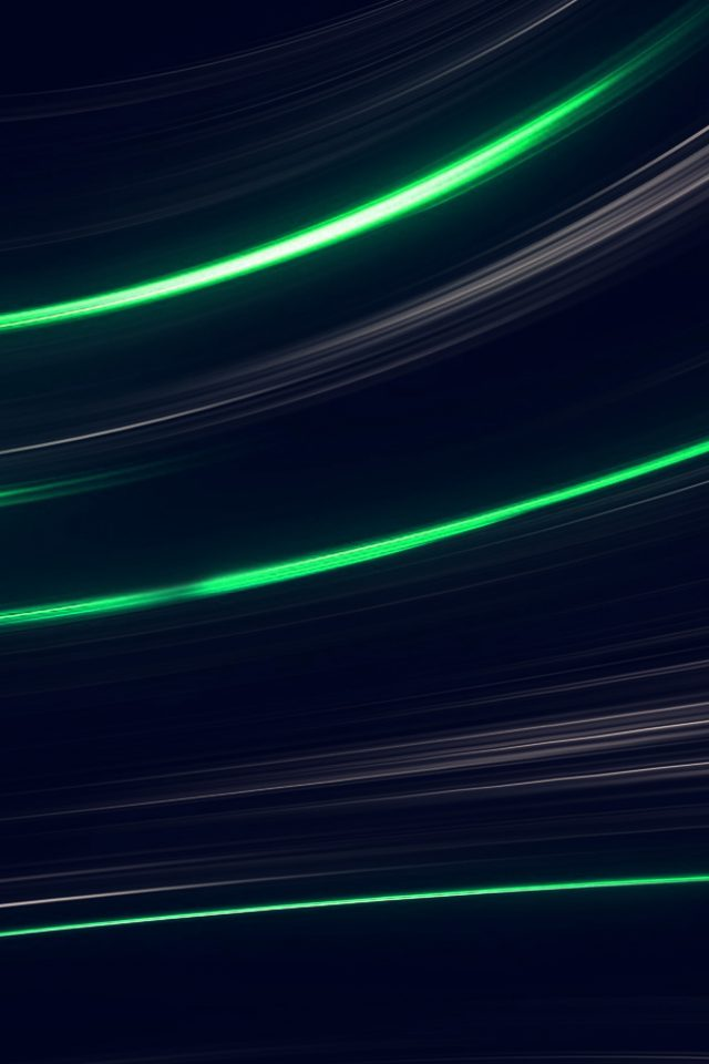 Curve Abstract Line Dark Green Pattern Android wallpaper