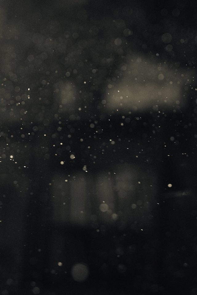 Dark Bubble Bokeh Rain Drops Art Android wallpaper