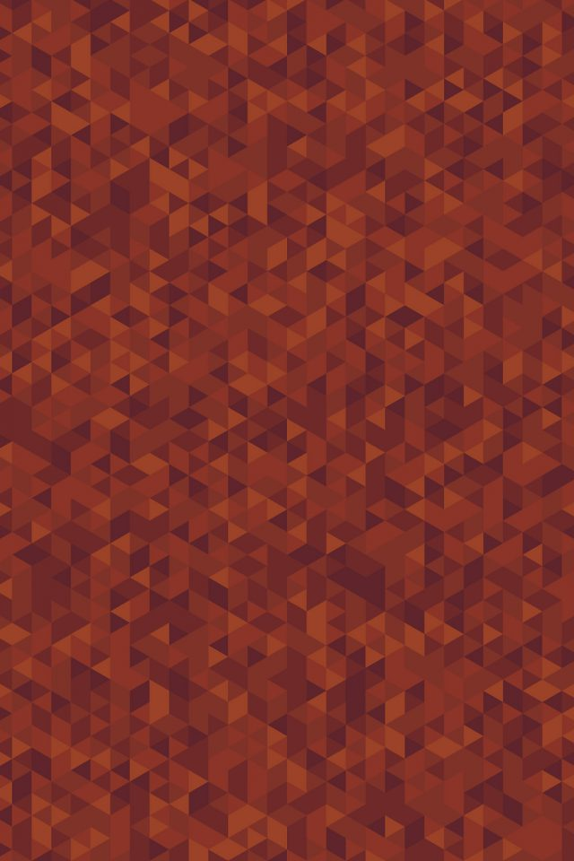 Diamonds Abstract Art Orange Pattern Android wallpaper