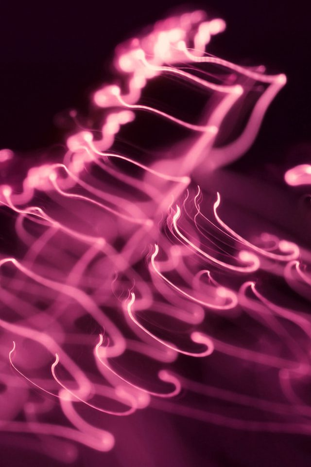 Ink Pink Soft Dark Smoke Bokeh Pattern Android wallpaper