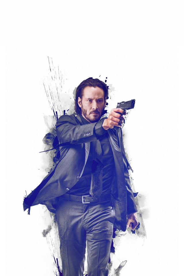 John Wick Movie Poster Art Actor Android wallpaper