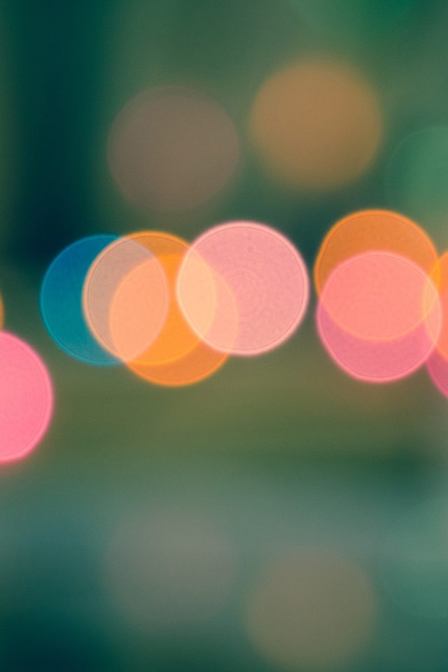 Light Bokeh Blur Pattern Android wallpaper