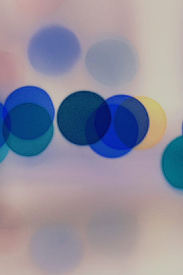 Light Bokeh White Blur Pattern Android wallpaper