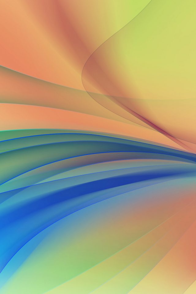 Line Art Abstract Yellow Smoke Pattern Android wallpaper