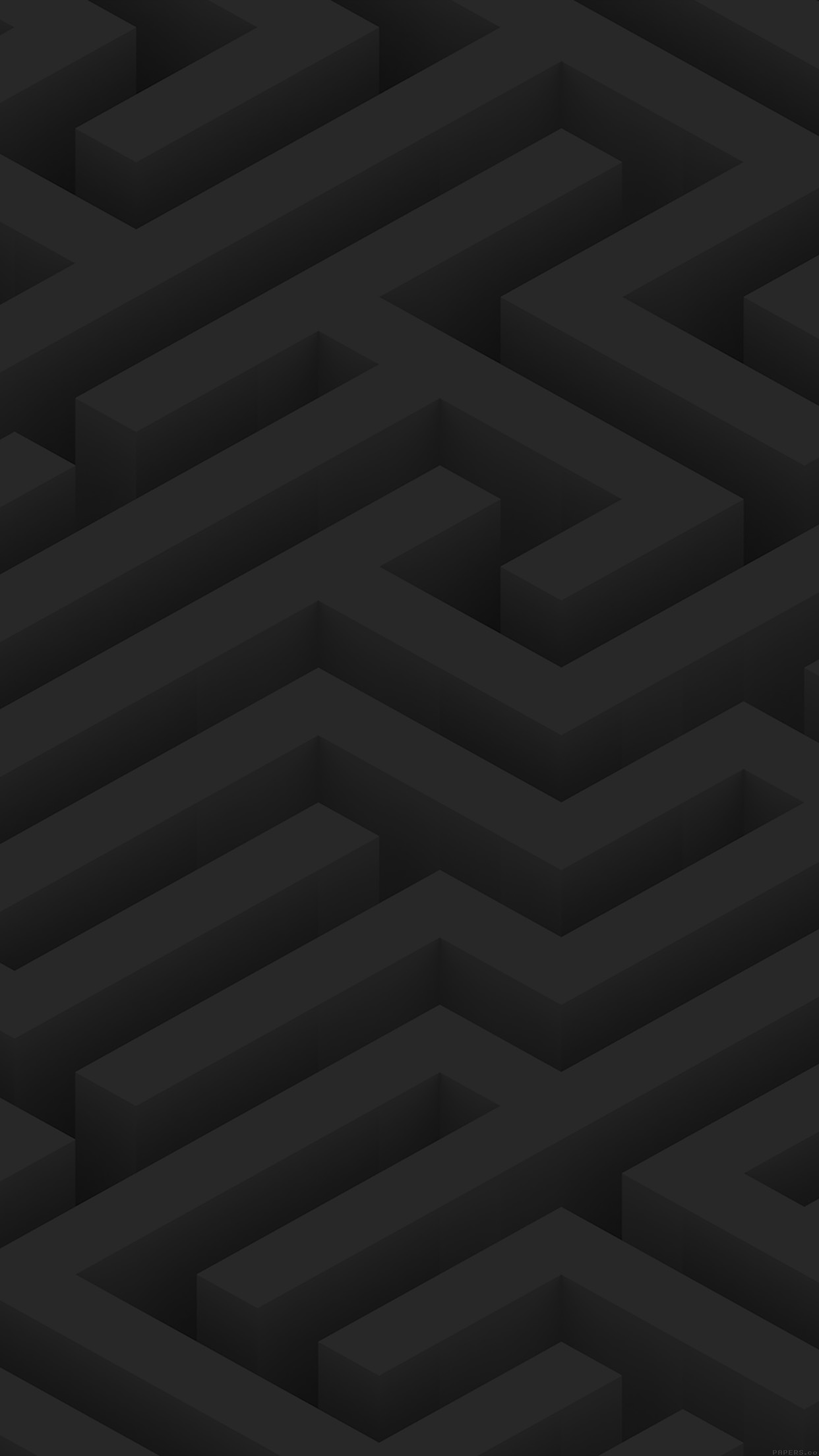 Maze Art Dark Abstract Patterns Android wallpaper