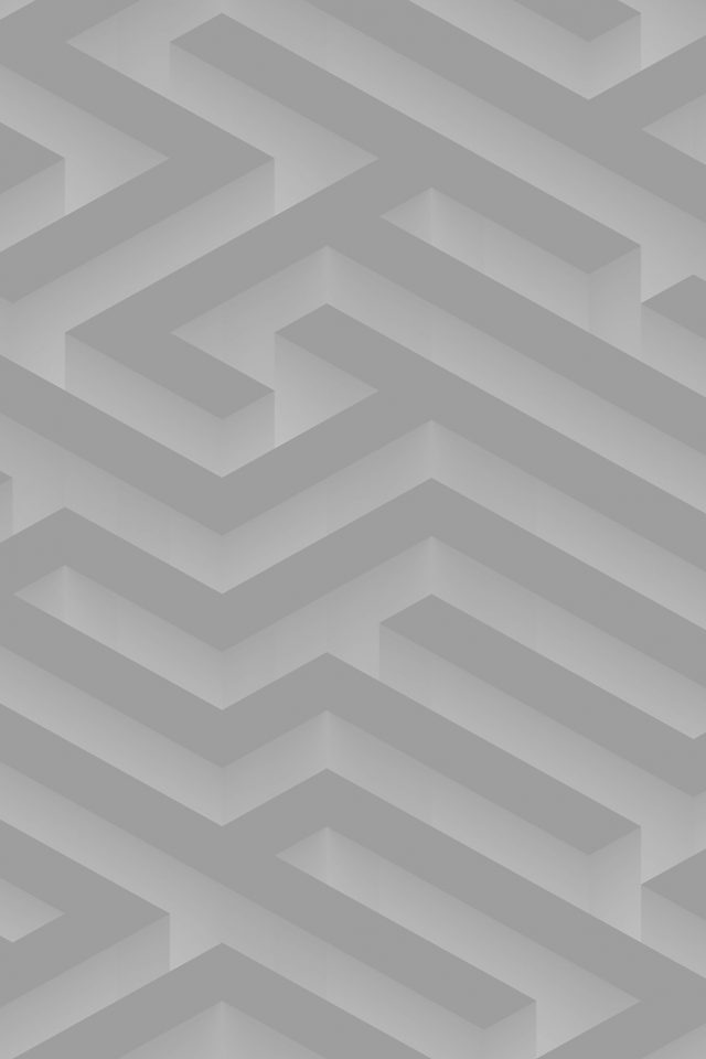Maze Art White Abstract Patterns Android wallpaper