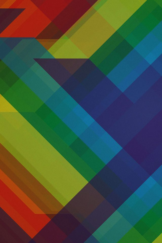Multicolored Polygons Pattern Art Abstract Android wallpaper