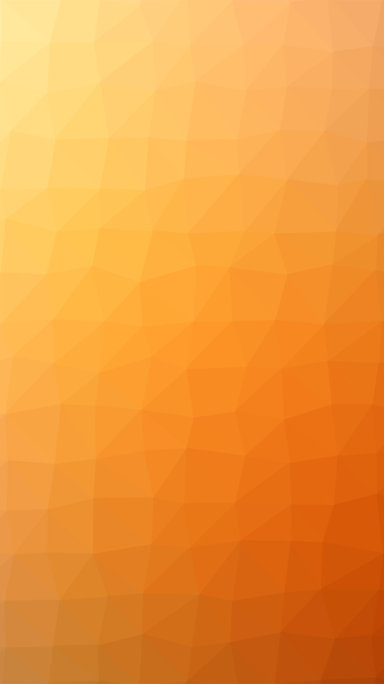 Orange Polygon Art Abstract Pattern Android wallpaper