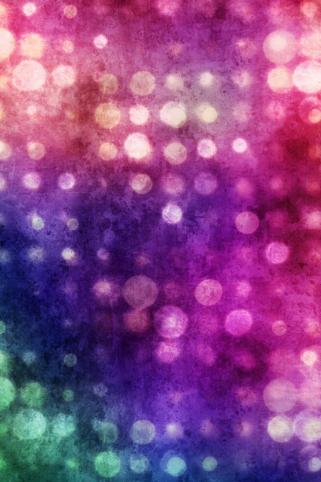 Party Light Bokeh Color Pattern Android wallpaper