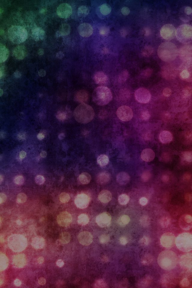 Party Light Vintage Bokeh Color Pattern Android wallpaper