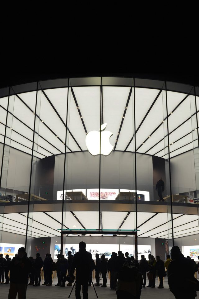 Photo Apple Store Event City Architecture Android wallpaper