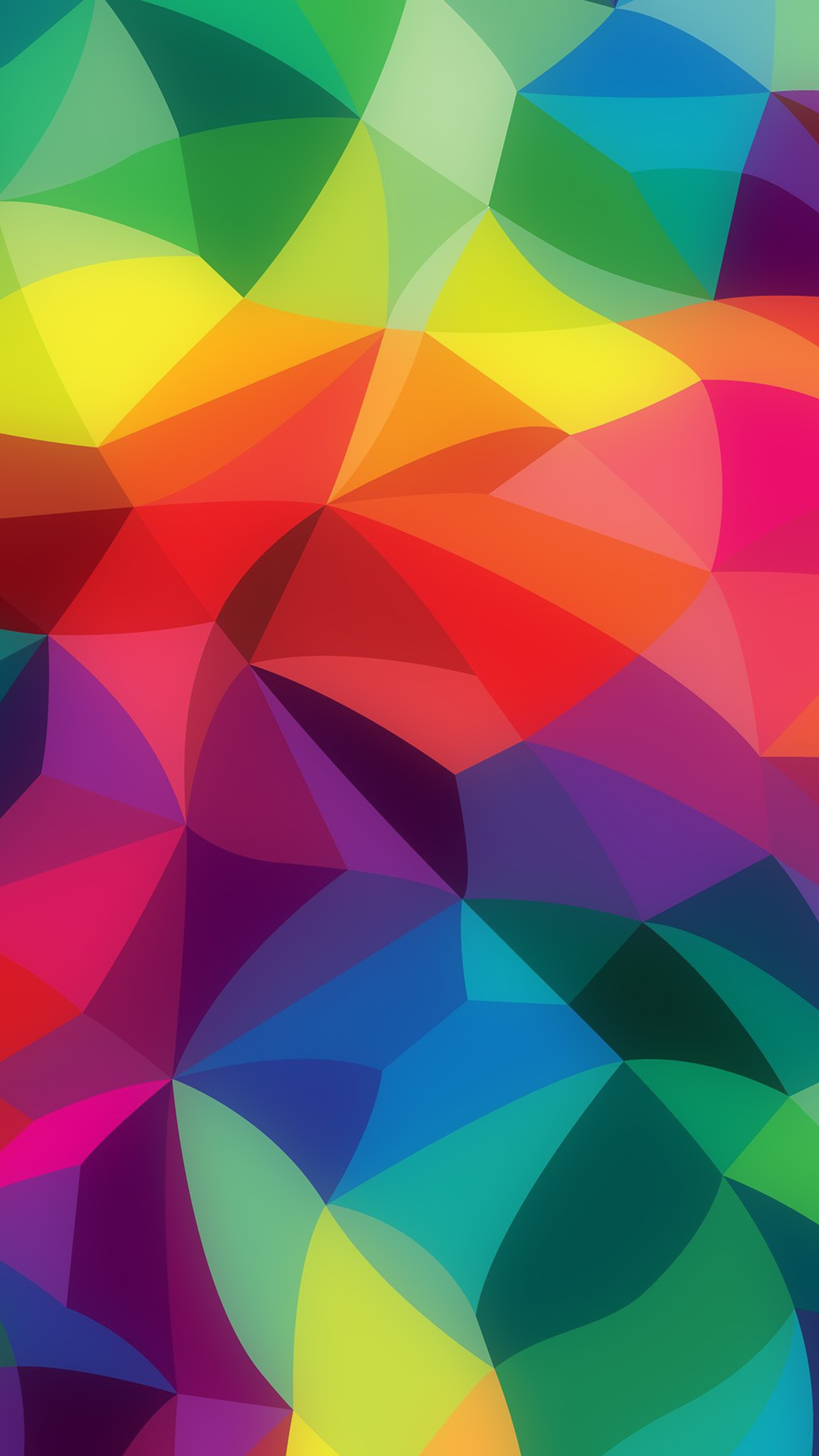 Rainbow Abstract Colors Pattern Android Wallpaper Android
