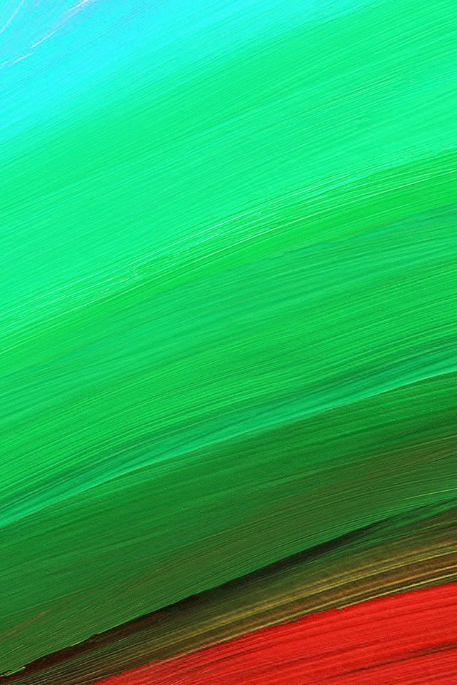 Rainbow Swirl Line Abstract Pattern Green Red Android wallpaper