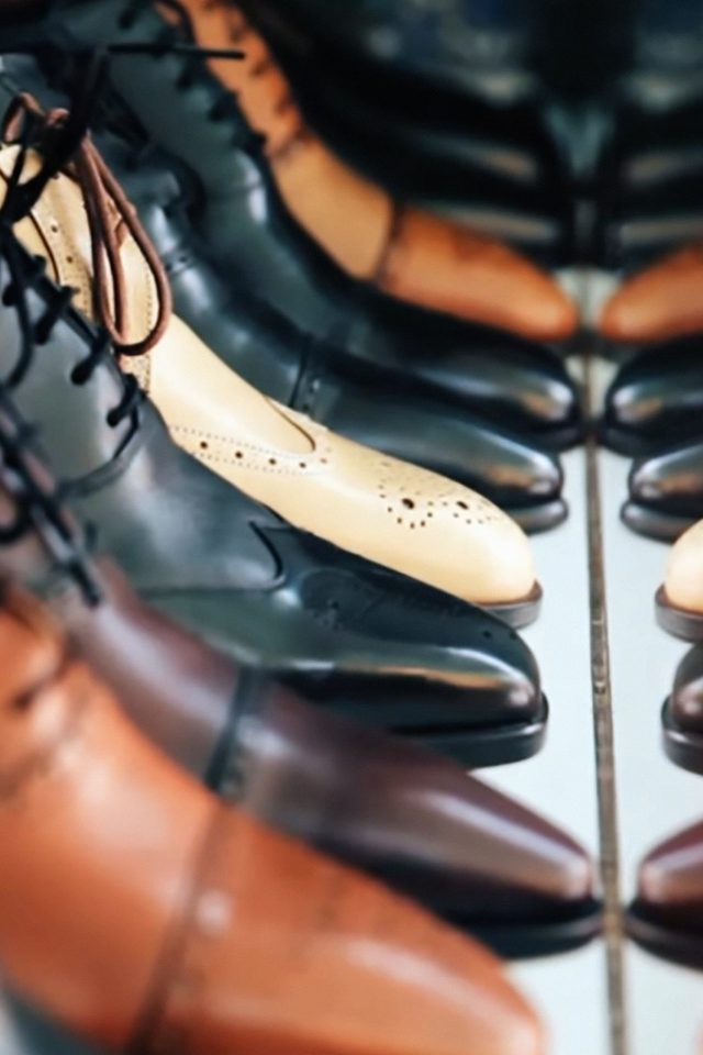 Shoes Shop Fashion Bokeh Android wallpaper