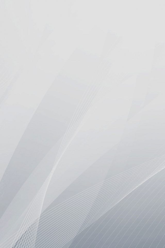 Simple Lines White Curves Abstract Art Android wallpaper
