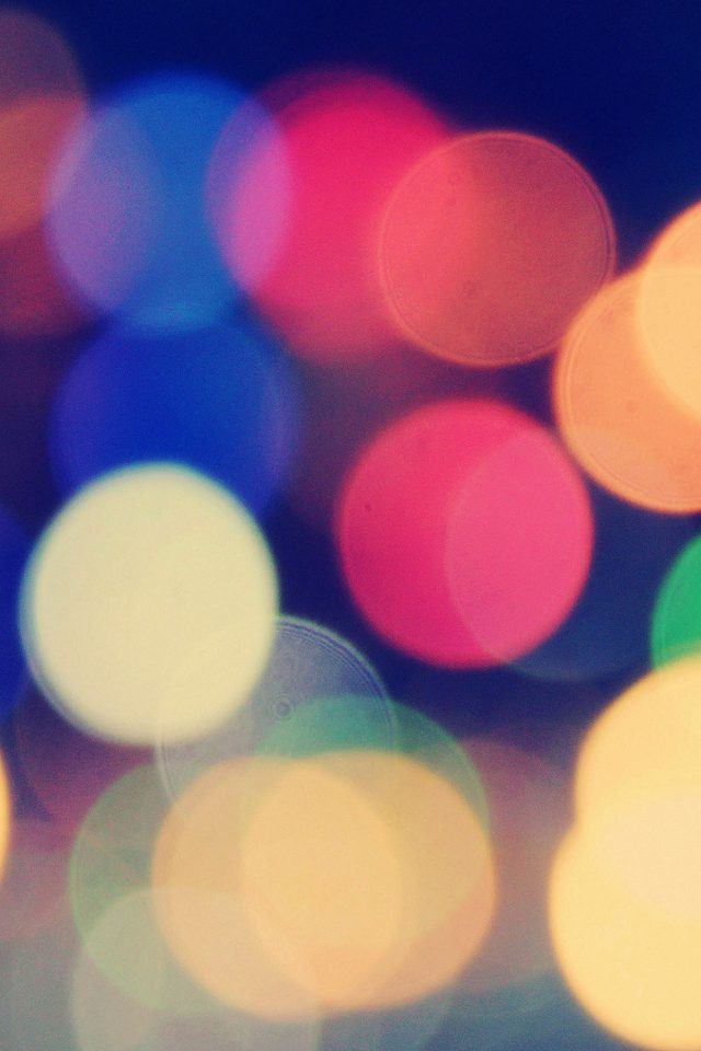 Wallpaper Blurred Lines Bokeh Android wallpaper