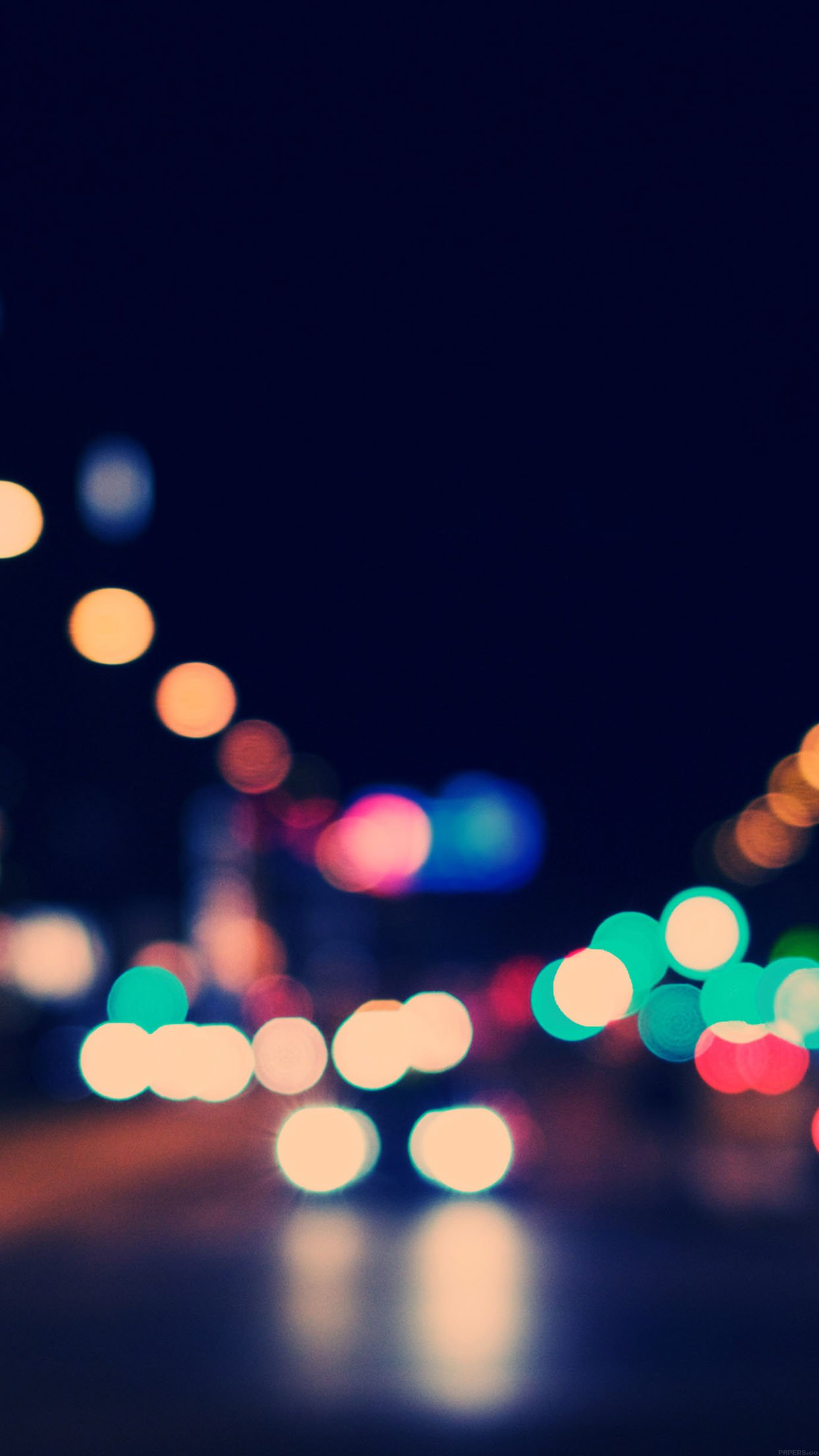 Wallpaper Drunk Night Bokeh Android wallpaper