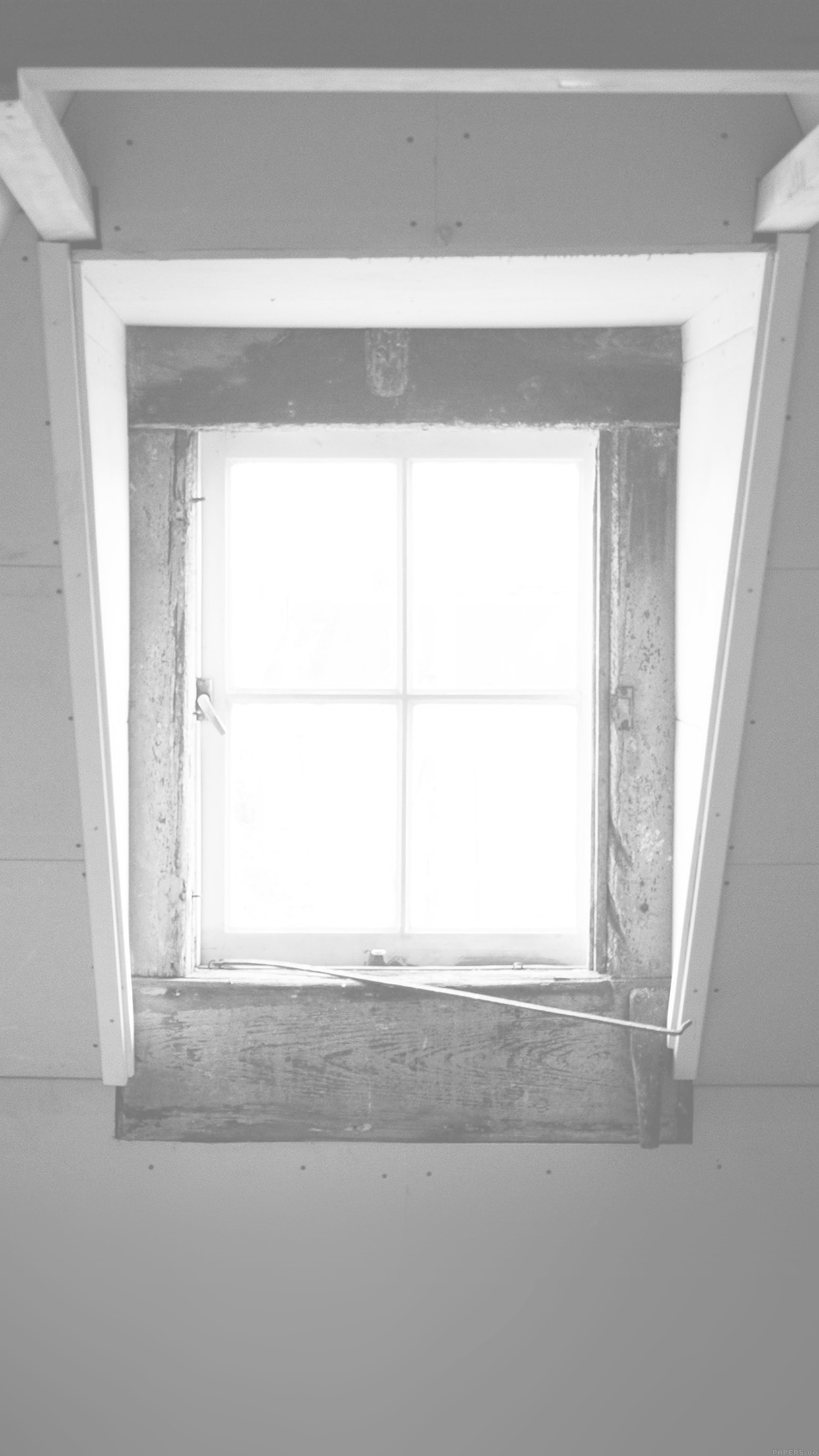 Window Lonely Light Home City White Android wallpaper
