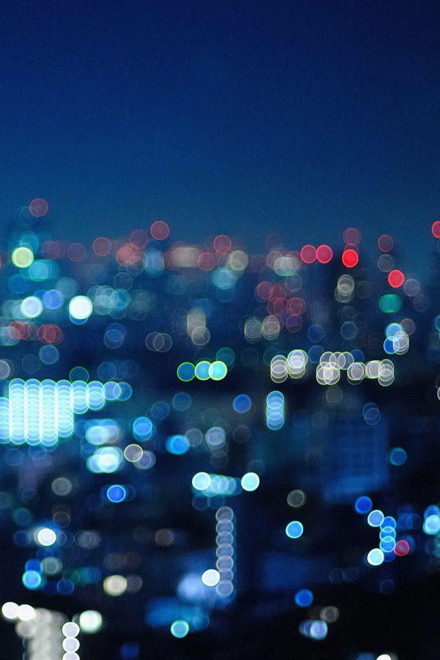Ying City Night Bokeh Android wallpaper