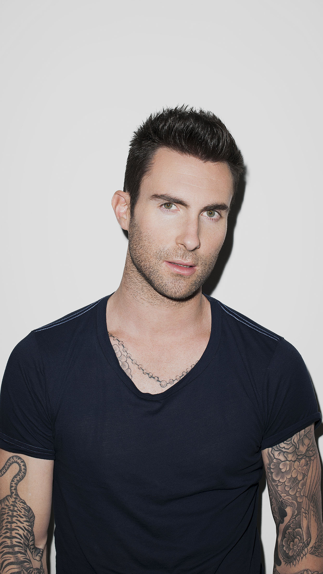 Adam Levine Tattoo Star Android wallpaper