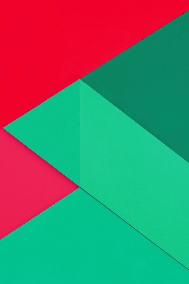 Android Marshmallow New Greener Red Pattern Android wallpaper